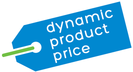 Dynamic Product Price Logo
